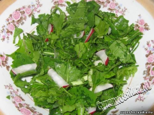 Руккола, салат из рукколы