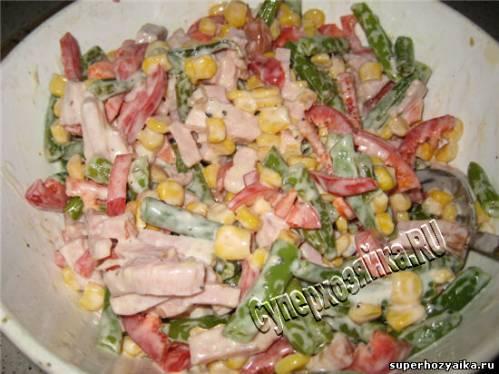 Рецепт новогоднего салата с фото