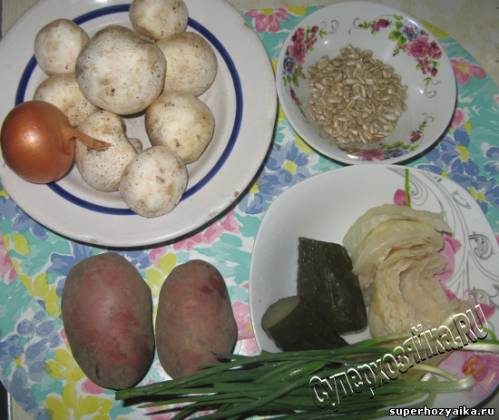 Салат ингредиенты