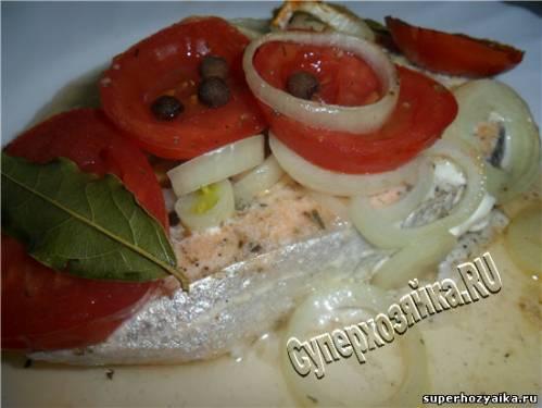 семга в фольге с овощами в духовке рецепт