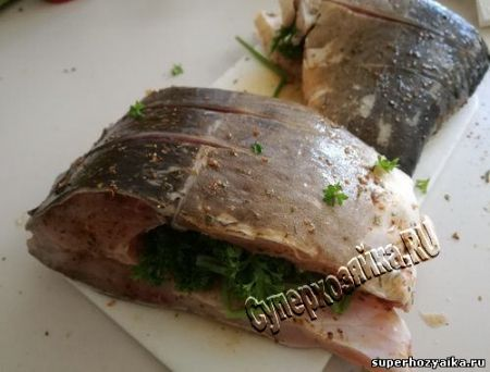 Рыбные блюда для пикника