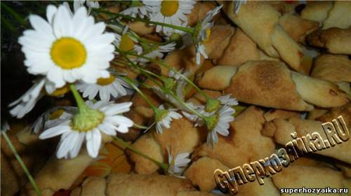 Рогалики с повидлом рецепт с фото