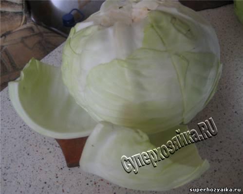 Голубцы из капусты - рецепт с фото