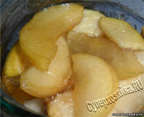 Яблоки для пирогов на зиму