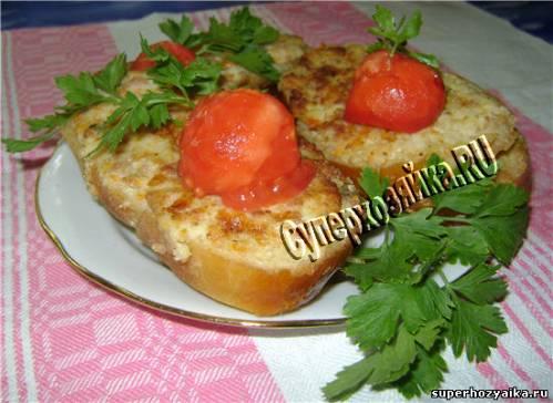 Бутерброды. Рецепт вкусных бутербродов с фото