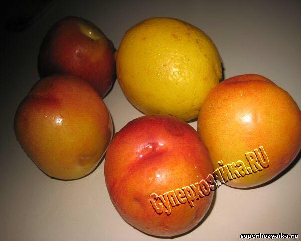 Фрукты для фруктовой настойки
