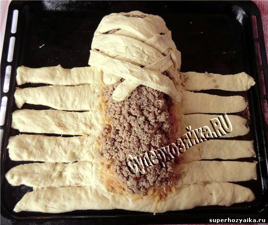 как оформить пирог плетенкой