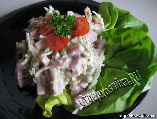 рецепт салата все по пять