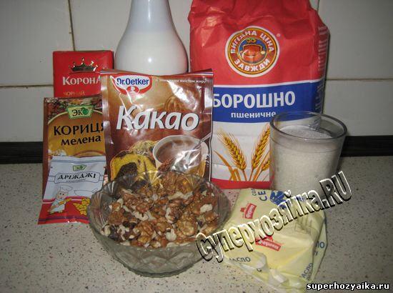 Ингредиенты для паски