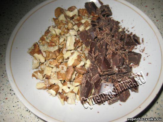 Шоколадная паска в х