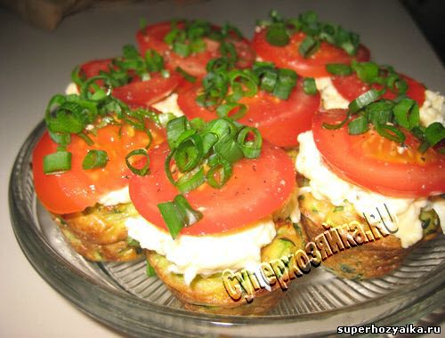 Закуска из кабачков и сыра
