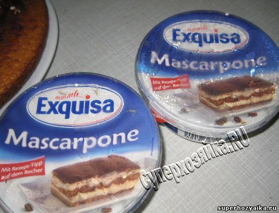 Крем для торта из маскарпоне
