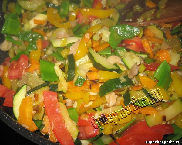 Рагу из летних овощей
