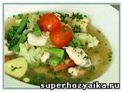 Итальянский суп Минестроне. Суп с овощами. Видео-Рецепт от Шеф-Повара