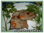 Мясо в духовке. Запеченное мясо в духовке в фольге. Рецепт с фото. Мясо фаршированное овощами
