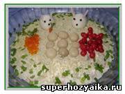 Салат Мимоза. Салат с рыбой. Рецепт с фото. Салат с рыбными консервами