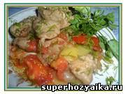 Ужин быстро и вкусно из курицы. Куриные грудки с овощами