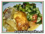 Мясо по-французски. Рецепт с фото. Мясо по-французски с помидорами и картофелем в духовке