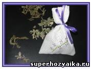 Подарки своими руками. Как сделать ароматическое саше, мешочки с мятой и шалфеем для хорошего сна