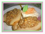 Десерты из груш. Груши с медом. Рецепты. Медовые груши запеченные в тесте