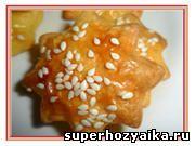 Печенье на скорую руку, Печенье с сыром рецепт с фото. Сырное печенье с кунжутом