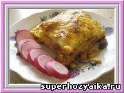 Блюда итальянской кухни. Лазанья с соусом болоньезе. Рецепт лазаньи. Лазанья с м...
