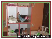 Для детей, своими руками. Кукольный домик, мебель для кукол своими руками