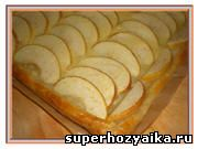 Яблочный пирог  - простой рецепт с фото. Яблочный пирог со сметаной в духовке