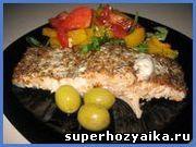 Запеченный лосось в духовке. Рецепт рыбы, запеченной с итальянскими травами. Рец...