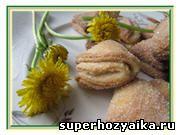 Печенье из творога Ушки – рецепт. Творожное печенье. Рецепт печенья на скорую руку