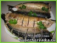 Фаршированная рыба. Запеченная скумбрия. Скумбрия, фаршированная лососем. Рыбное блюдо для праздничного стола