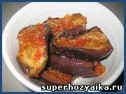 """Баклажаны """"тещин язык"""". Рецепт консервированных баклажанов. Закуска из..."""