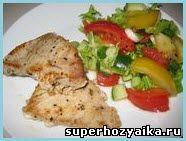 Стейк из тунца. Рецепт приготовления тунца. Рецепт рыбного стейка. Блюда из рыбы. Тунец